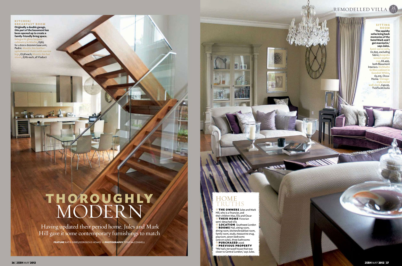Beautiful Homes May 2012